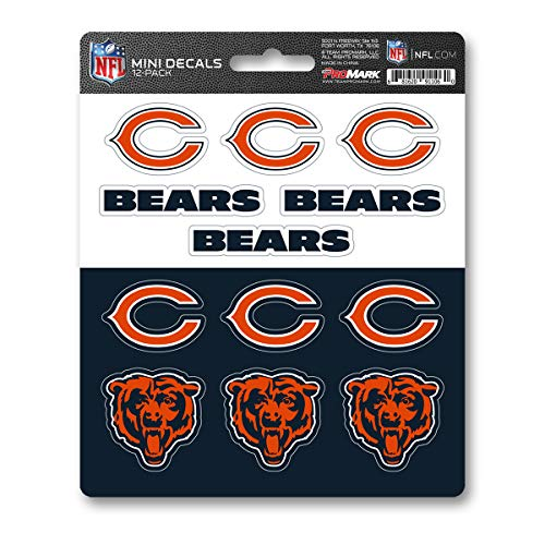 chicago bear stickers - 2