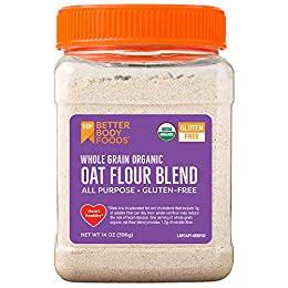OAT FLOUR: This whole-grain, organic oat flour makes a great alternative to traditional flour for anyone with sensitivities to gluten or anyone looking to improve their diet. GLUTEN-FREE OPTION: Now you can enjoy your favorite foods without gluten! T...