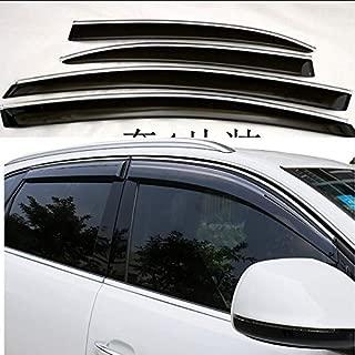Mrp Windabweiser f/ür Audi Q5 RS Q5 2008 2009 2010 2011 2012 2013 2014 2015 2016 Acrylglas Seitenblenden PMMA Typ 8R