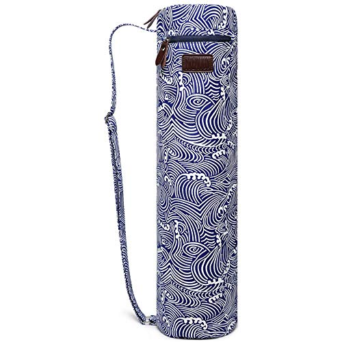 Fremous Yoga Mat Bag and Carriers for Women and Men - Portable Multifunction Storage Pockets Canvas...