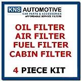 Kit d'entretien pour filtres à huile, carburant, air et pollen 318d et 320d E46