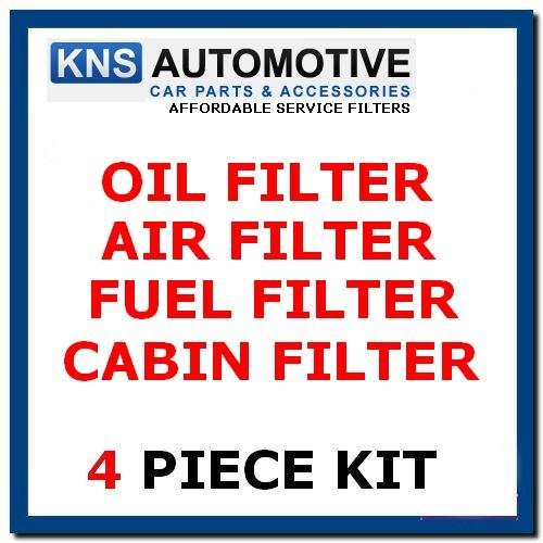 CLK270 CDI (02 – 05), olio combustibile, Cabin & Air Filter Service kit
