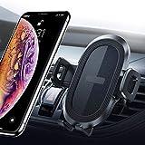 Support Auto Téléphone Universel, Support Téléphone pour Event de Voiture avec Bouton de dégagement Rapide,...