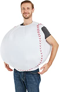 FunFill Adult Baseball Costume One Size Most