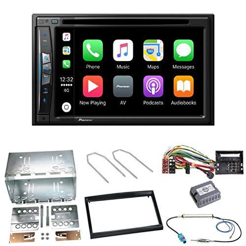 Pioneer z610bt Navegación CarPlay USB CD DVD Bluetooth MP3WMA Radio de Coche de 2DIN naviceiver Juego de Montaje para Peugeot 207307Partner Expert