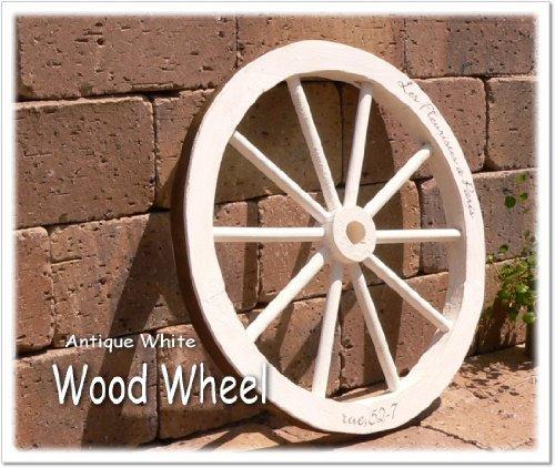 ブランウィール 木製車輪 M ホワイト