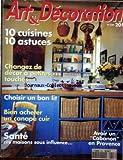 ART ET DECORATION [No 328] du 01/09/1994 - 10 CUISINES - 10 ASTUCES - CHANGEZ DE...