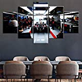 Yywife 5 teilig Bilder wandbild 200x100CM Feiertagsgeschenk