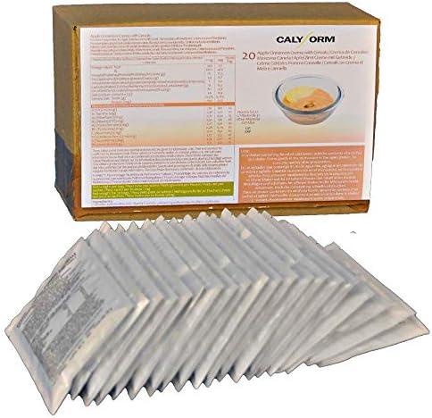 CALYFORM Crema Proteica para dieta sabor Cereales, Manzana y Canela saciantes | Proteína en polvo para dieta proteica de calidad y aporte en ...