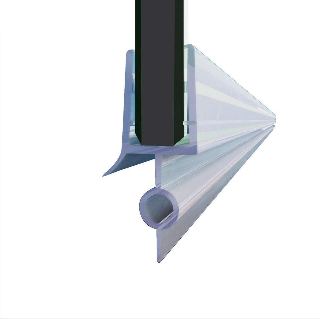 ELEGANT Shower Luxury Door Sweep Bottom Wipe Rail Drip Sale item Seal Waterproof