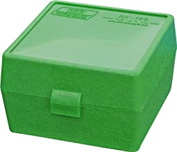 MTM Case-Gard RM-100 Series Medium Rifle Ammo Box, 100 Round, Green