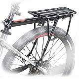 OUTERDO Fahrrad Gepäckträger, Gepäckträger aus Aluminum, Carrier Sattelstütz mit...