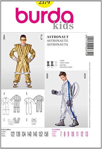 Burda Schnittmuster Astronaut Overall ? Weste ? Backpack Gr. 122-158
