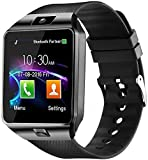 Faawn Smart Watch Bluetooth Phone Call smartwatches with Sim and Bluetooth Call Fitness Tracker Smart Watches for Men, Women, Boys and Girls ( smartwatch ) - Black