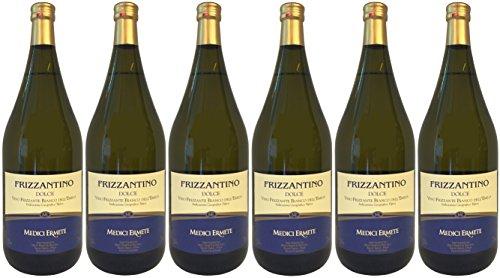 FRIZZANTINO Bianco Dell´Emilia IGT dolce MEDICI ERMETE (6 X 1,50 L) - Weißer Süßer Perlwein 7,5% Vol.