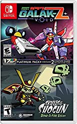 Switch box art revealed for Galak-Z: The Void/Skulls of the Shogun Bone-A Fide Platinum Pack