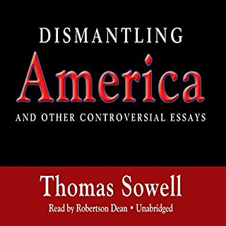 Dismantling America audiobook cover art