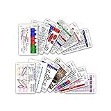 Complete EMS Vertical Badge Card Set - 13...