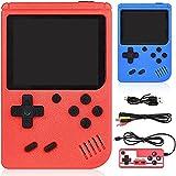 GOLDGE Handheld Console da gioco, 400 giochi classici, supporto per il collegamento alla TV, due giocatori per...