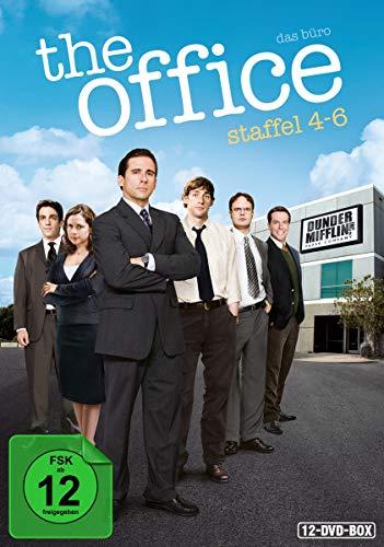 The Office - Das Büro, Staffel 4-6 [12 DVDs]