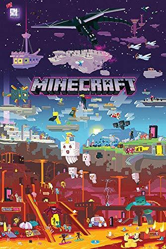 Close Up Minecraft Poster World Beyond (61cm x 91,5cm)