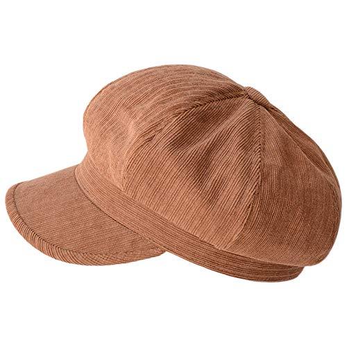 Guanxue Girl Newsboy Hat Boinas para Mujer Gorros Gorras Gorras panaderas Planas Gorras de peridico Sombrero Personal Accessories (Color : Brown, Size : Medium)