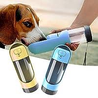 ペット給水器 散歩や旅行用のペットの犬用水ボトルディスペンサーポータブル水ボトル格納式で漏れ防止の犬猫用飲料ボトル