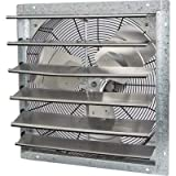 Strongway Enclosed Variable Speed Shutter Exhaust Fan - 24in. 1/4 HP, 4300 CFM