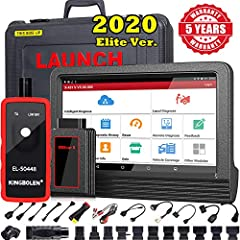 💥2020 Elite Ver.LAUNCH X431 V OE-Level Functions + Bi-directional Control💥 sames as snap-on offers. it addes OE-level features as➤Guided Functions ➤Online Coding (compatible with VW, Audi, Skoda, Seat)➤Online Parameterization➤Modification for BMW ➤Of...
