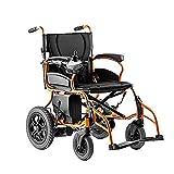 BXZ Silla de ruedas Discapacitados Silla de ruedas Ancianos Silla de ruedas eléctrica Plegable Motorizado para uso doméstico y al aire libre Sillas de ruedas eléctricas Plegable Eléctrico Compacto As