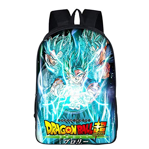 bgdo.cccc Anime Dragon Ball Z Son Goku Cosplay Bolso de Hombro Mochila Lienzo Estudiante Escuela Bolso de Libro,9