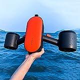 LiChenYao Scooter sous-Marin Portable, Équipement De Plongée De Tir À Main, Batterie Intégrée, 3 Vitesses Plage Vacances D'été Mer Freestyle Accessoires pour Adultes