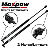 Maxpow Qty (2) Rear Tailgate Lift Support Hatch Strut Compatible With Grand Cherokee 2005 To 2008 Liftgate Lift Supports Struts Shocks 6104