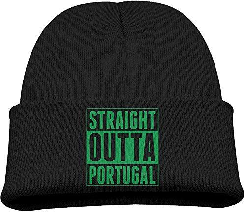 Preisvergleich Produktbild Hxincyu Children's Trendy Knitted Cap Straight Outta Portugal Beanie