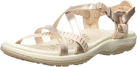Skechers Women's Reggae Slim-Festivity-Strappy Adjustable Slingback Sandal