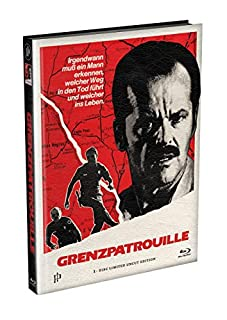 GRENZPATROUILLE (The Border) - 1-Disc wattiertes Mediabook Cover A [Blu-ray] Limited 122 Edition