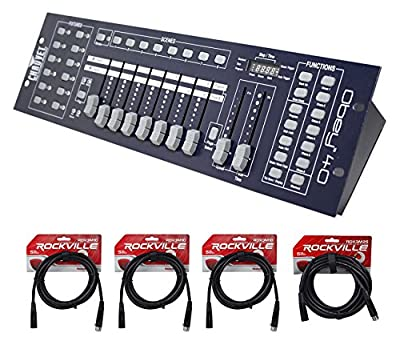 Chauvet DJ OBEY40 OBEY 40 DMX-512 Universal Light Controller w/ 10' & 25' Cables from Chauvet