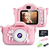 Youerls Kids Camera Children Digital Camera, Rechargeable Digital Camera for Girls Boys 3-12