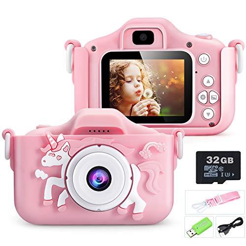 Youerls Kids Camera Children Digital Camera, Rechargeable Digital Camera...
