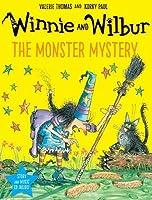 Winnie and Wilbur: The Monster Mystery PB + CD (Winnie & Wilbur)