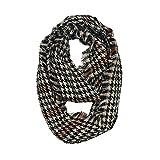 Watopi Femmes Tissu en laine à laine Écharpe en coton Stitch Long Cashmere
