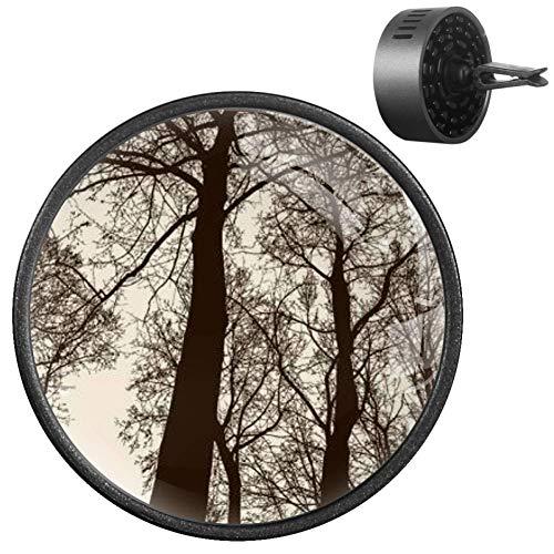 NOBRAND - Ambientador de coche para ambientador de bosque de hoja caduca en temporada...