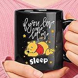 If You Love Me Let Me Sleep Winnie The Pooh Mug Camping Travel Ceramic Mug Water Bottle