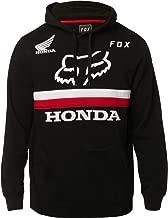 Fox Racing x Honda Men's Fox Honda Pullover Hoodie Black
