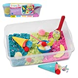 Creativity for Kids Sensory Bin: Ice Cream Shop Playset - Pretend Play, Early Learning for Girls and Boys