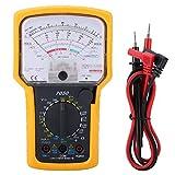 Multimetro Analogico Polimetro Profesional Compacto - Multímetro De Prueba Herramienta Del Tipo Analógico Kt7050 Multifunción Alta Sensibilidad Precisión Ohmímetro Analógi