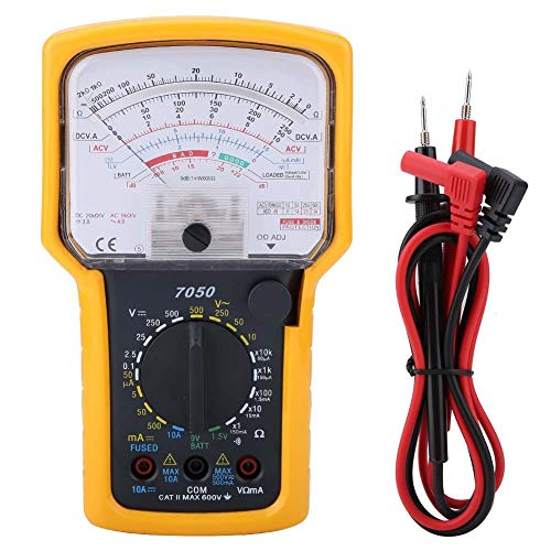 MLMLH Multimetro Analogico Polimetro Profesional Compacto - Multímetro De Prueba Herramienta del Tipo Analógico Kt7050 Multifunción Alta Sensibilidad Precisión Ohmímetro Analógi