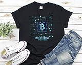 Toll2452 Camiseta de algodón Bitcoin, Camiseta Bitcoin, Regalo para Él, Regalo para Hombres, Regalo de Bitcoin, Crypto Shirt, Stock Market Camiseta unisex de manga corta