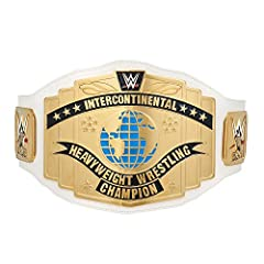 Made of a high-quality plastic and half the weight of the replica version, this Commemorative Championship Title Belt is perfect for displaying on a shelf or wall Add this title to your collection and show everyone that the CHAMP IS HERE Measures 4 f...