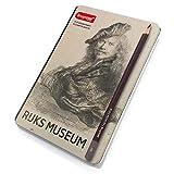 Bruynzeel - Rijks Museum Edición de 12 Alta Calidad Grafito Lápices 2H- 9B] - Rembrandt Autorretrato